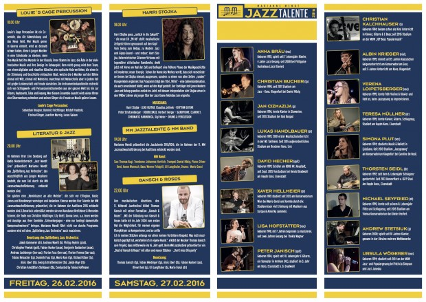 Programm 2016